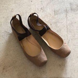 Jessica Simpson nude ballet slipper flats